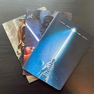 Star Wars Notebooks (Set of 3)